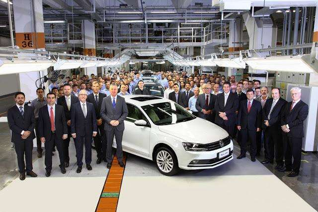 Volkswagen inicia produção do Jetta 1.4 Turbo no Brasil