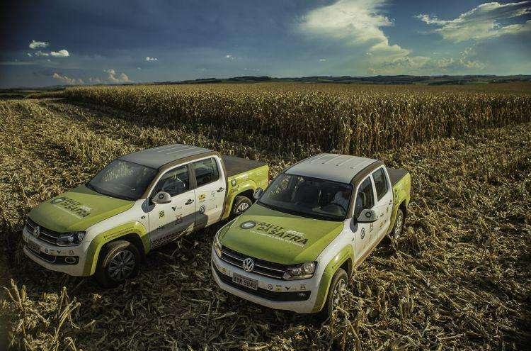 Volkswagen Amarok é a picape oficial do Rally da Safra 2016