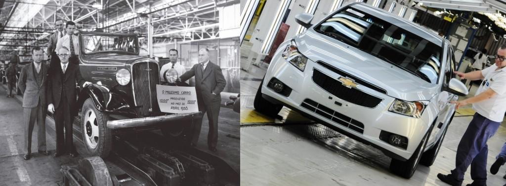 Chevrolet completa 91 anos de atividades no Brasil