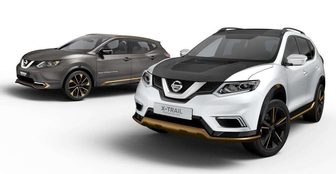 Nissan apresenta os SUVs X-Trail e Qashqai com personalização premium