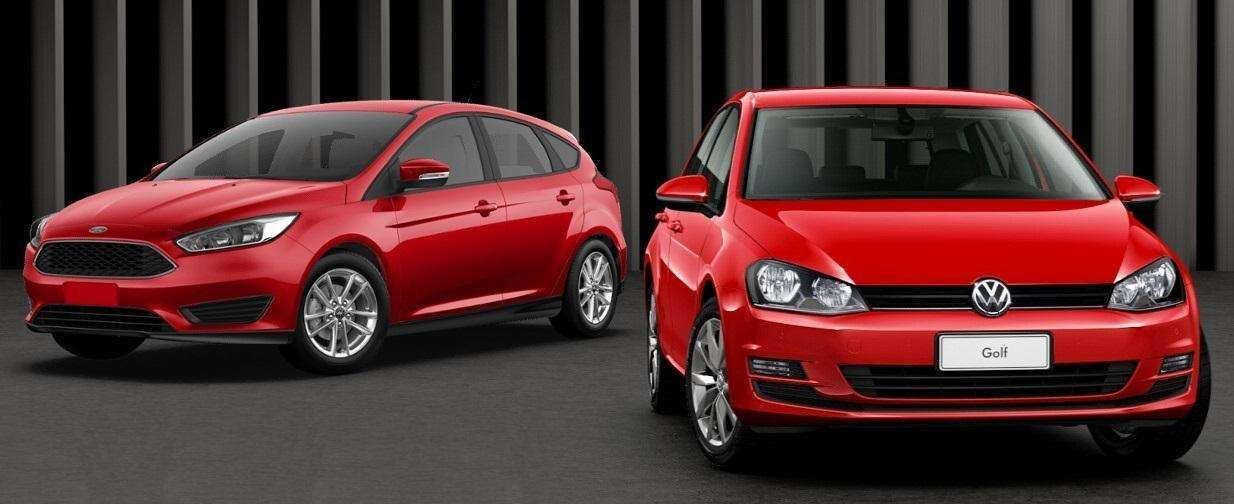 Novo VW Golf nacional supera Ford Focus em comparativo
