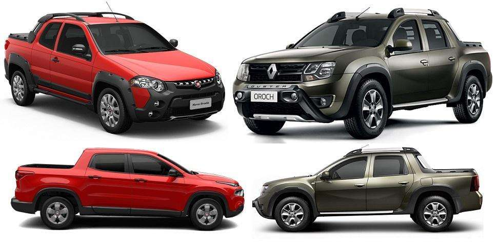veja comparativo da renault duster oroch com fiat toro e strada adventure. Black Bedroom Furniture Sets. Home Design Ideas