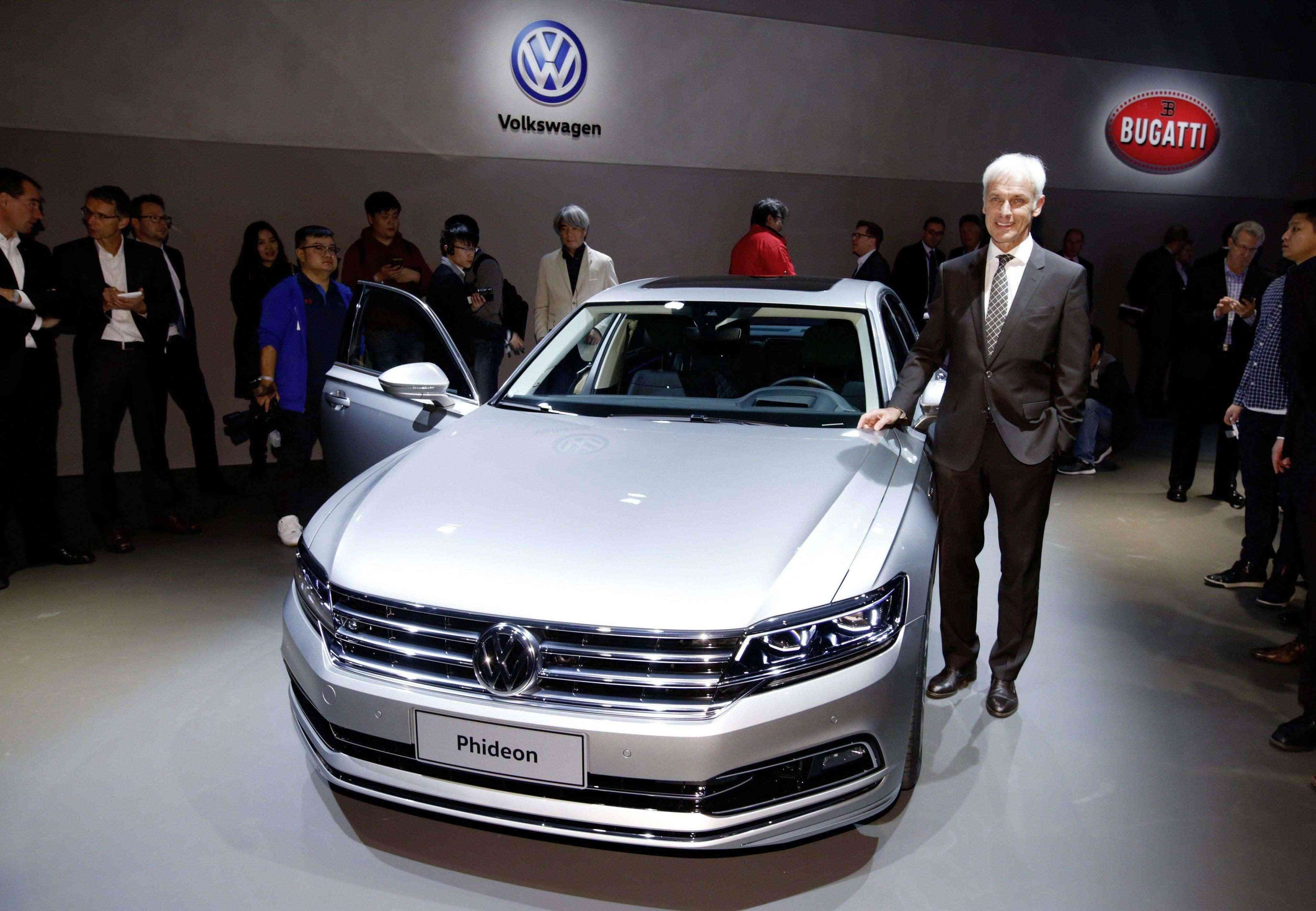 Volkswagen Phideon: sedã de alto luxo é apresentado em Genebra