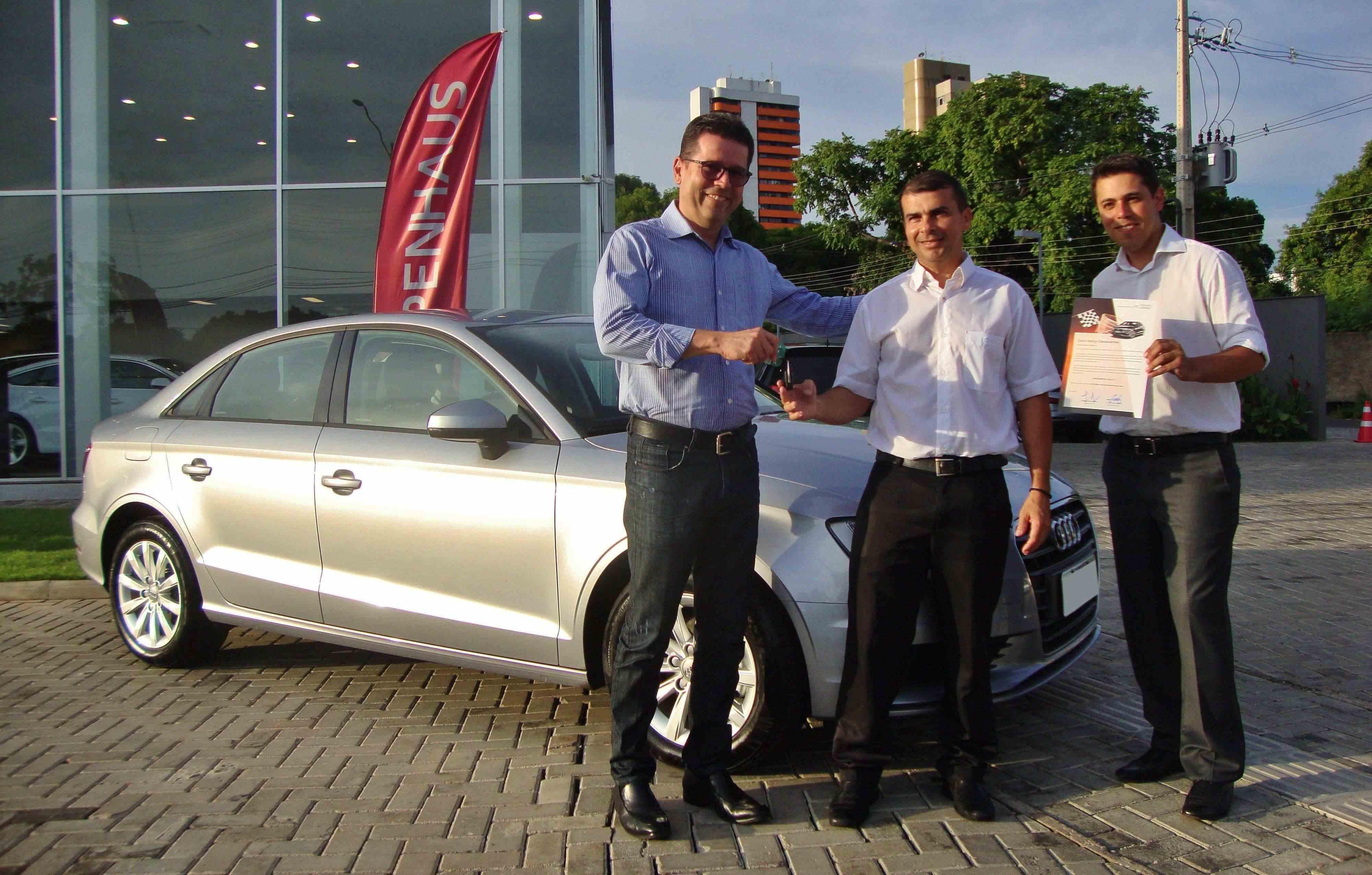 Audi Center Teresina é premiada em programa de satisfação de clientes