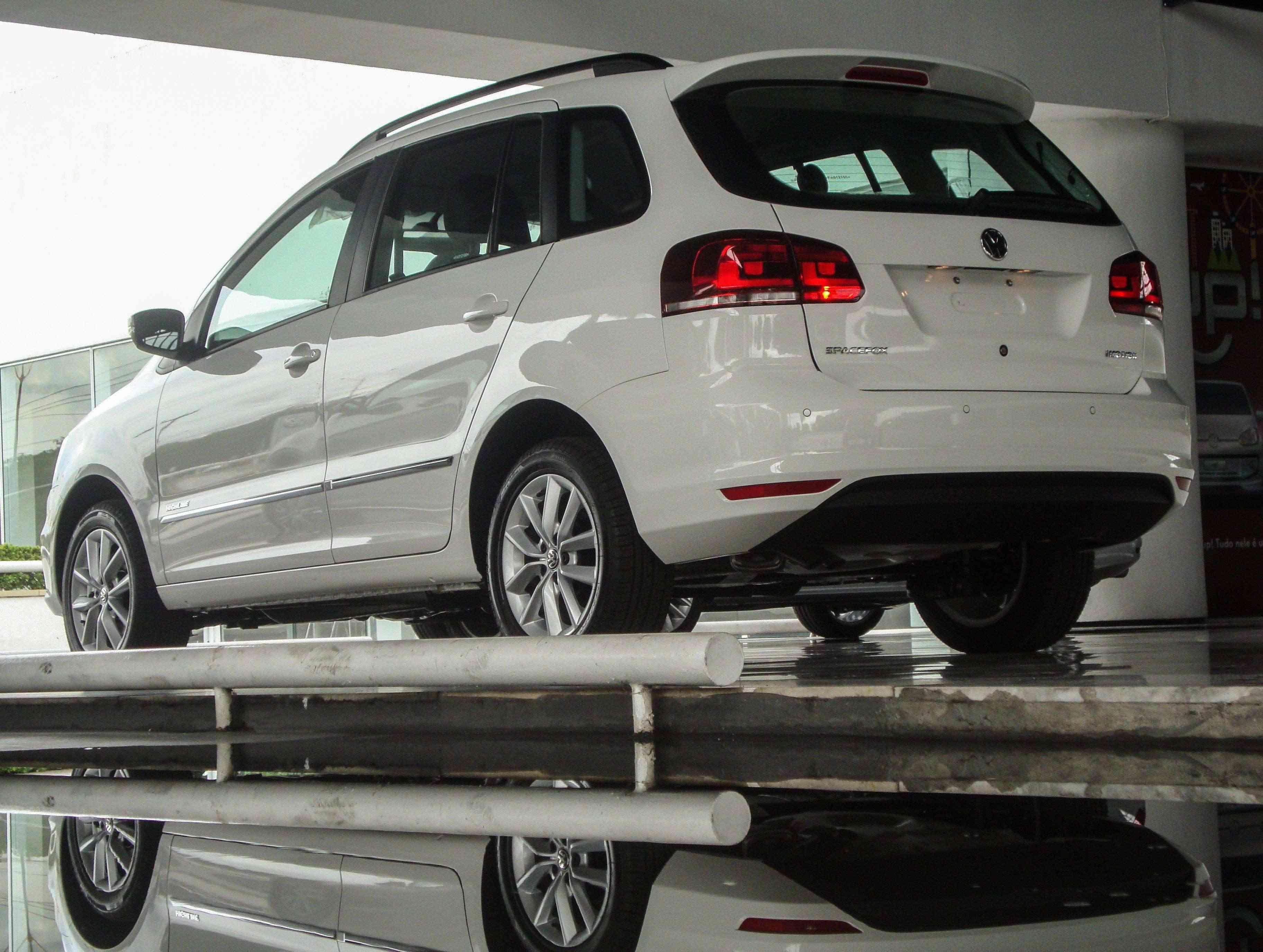 Volkswagen SpaceFox Highline: versatilidade é com ela mesma