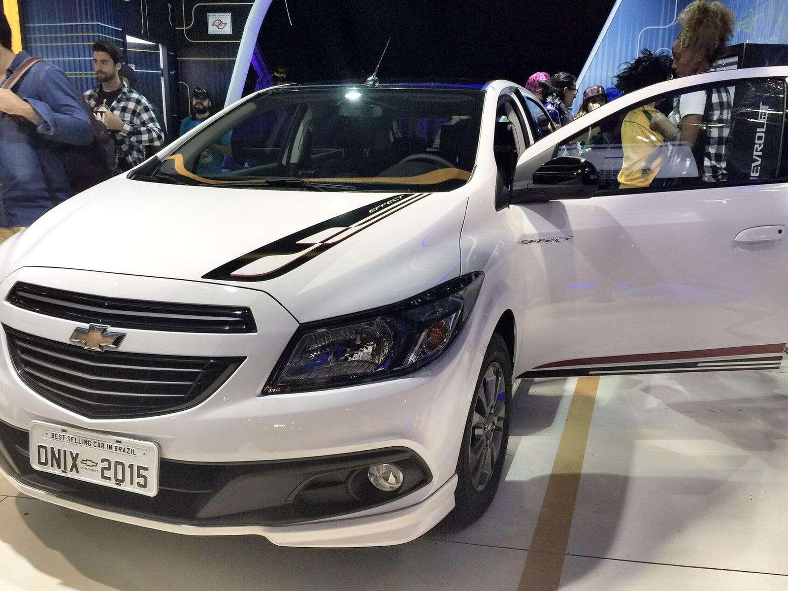 Chevrolet Onix é, pela terceira vez, o carro oficial do Lollapalooza