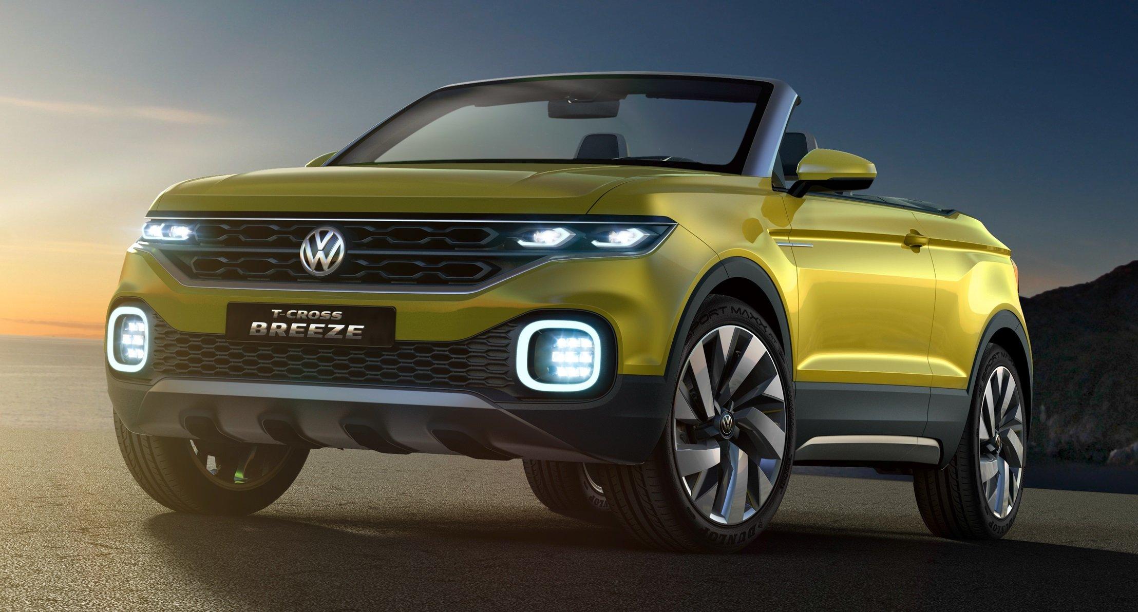 Volkswagen T-Cross Breeze: robustez de SUV, liberdade de conversível