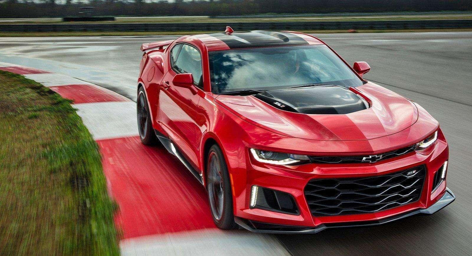 Chevrolet Camaro 2017 estreia versão ZL1, com 640 cavalos