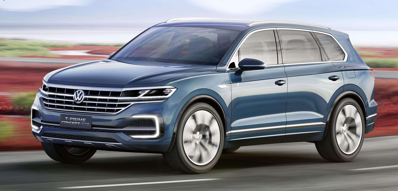 Volkswagen T-Prime GTE: força de SUV somada à eficiência híbrida