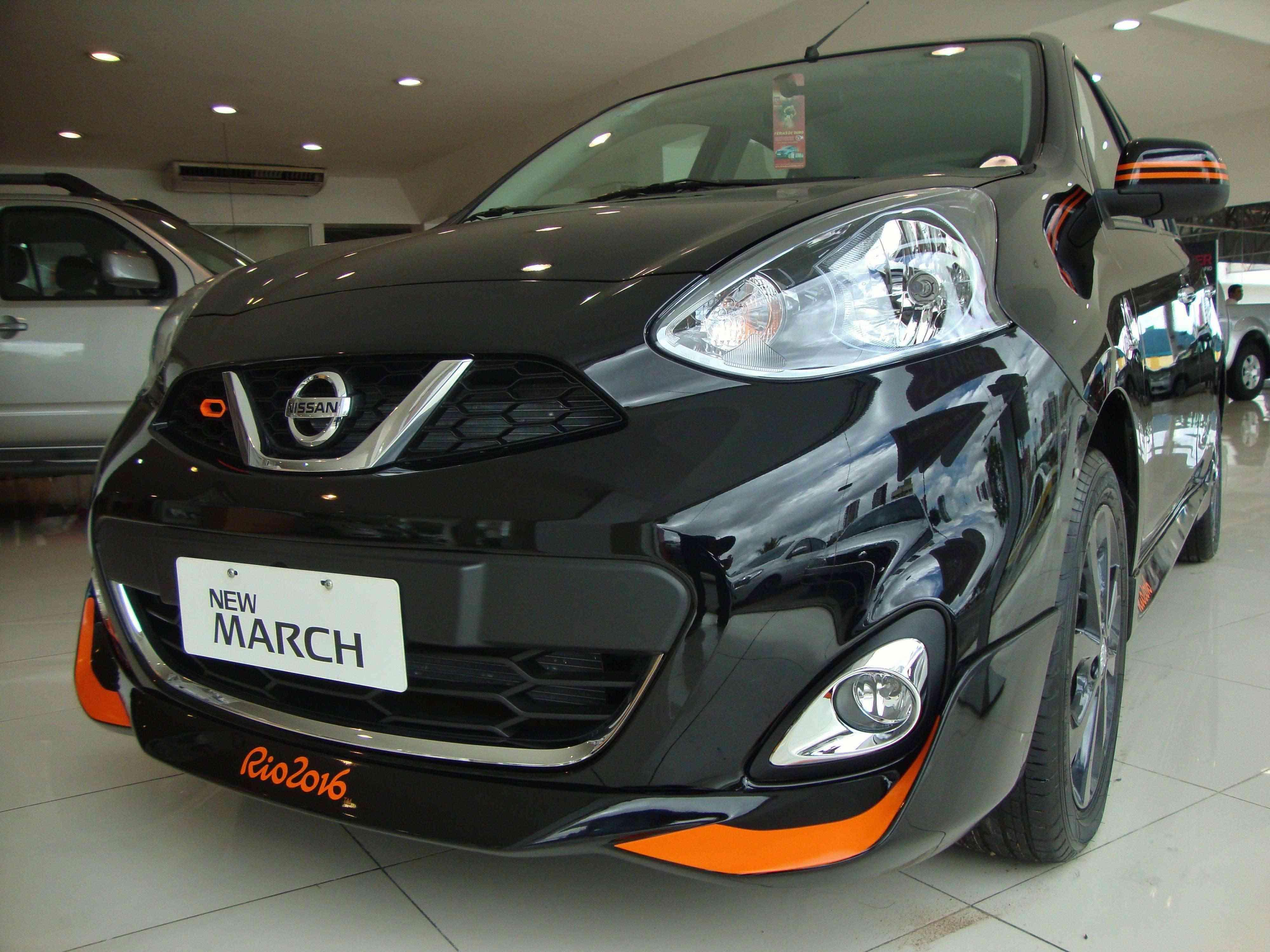 Concorra a um March Rio 2016 fazendo o Test Drive Campeão Nissan
