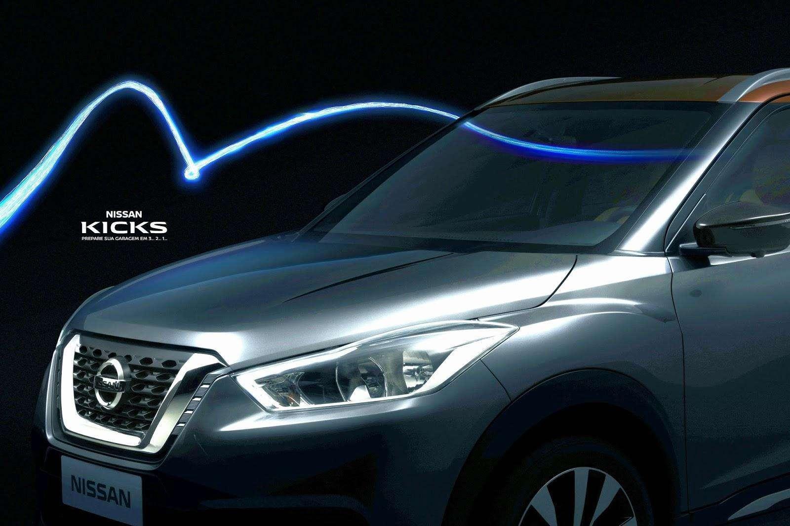 Nissan Kicks, carro oficial das Olimpíadas 2016, tem frente revelada