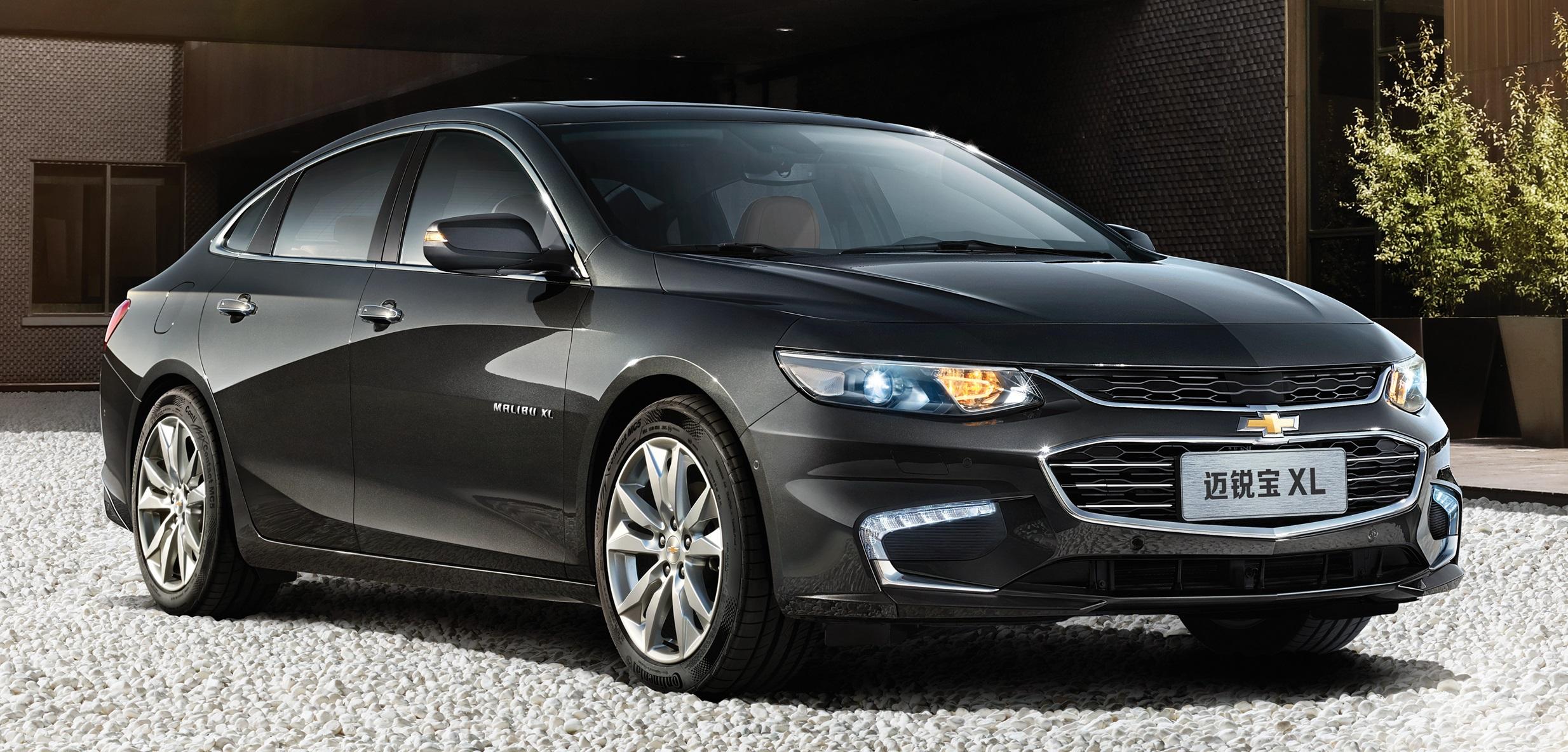 Chevrolet apresenta Malibu XL, com maior espaço para passageiros