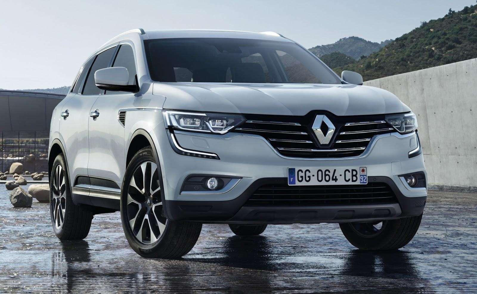 Renault apresenta primeira imagem do novo SUV Koleos