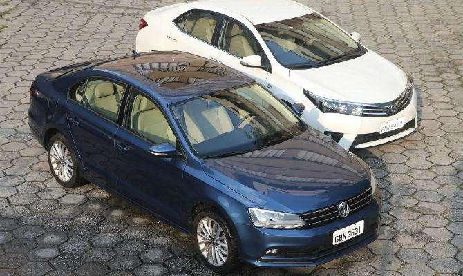 Volkswagen Jetta TSI enfrenta Toyota Corolla: confira qual é o melhor sedan