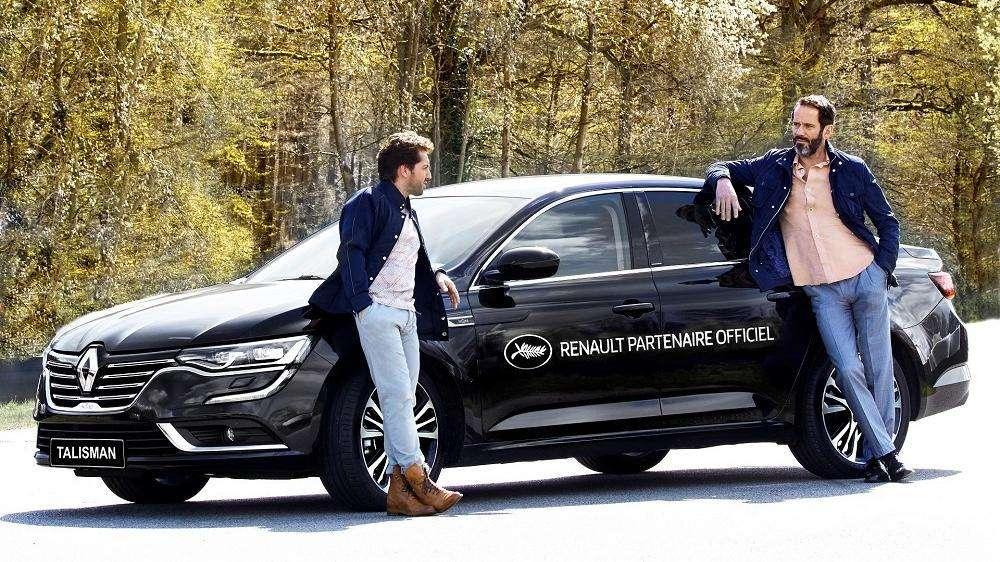Novo Renault Talisman é destaque no Festival de Cannes