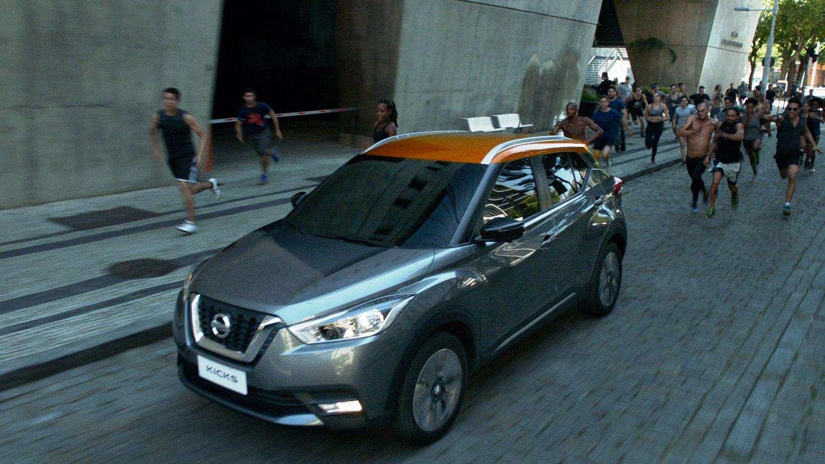 Nissan evidencia espírito das Olimpíadas com sua linha renovada