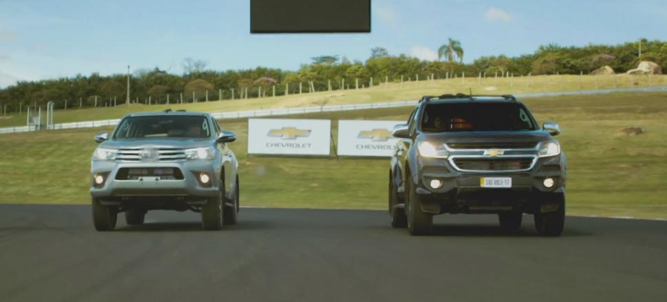 Desafio Chevrolet S10: nova picape põe sua força à prova contra Hilux