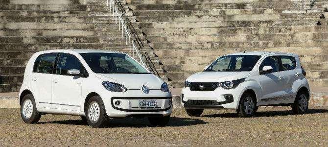 Volkswagen up! X Fiat Mobi: saiba a melhor opção no segmento compacto