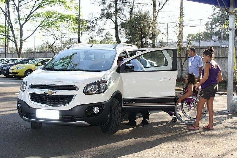 Chevrolet participa do Mobility & Show, com condições especiais para pessoas com deficiência