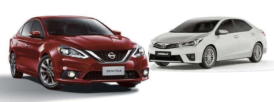 Nissan Sentra enfrenta Toyota Corolla: confira qual é o melhor sedan médio