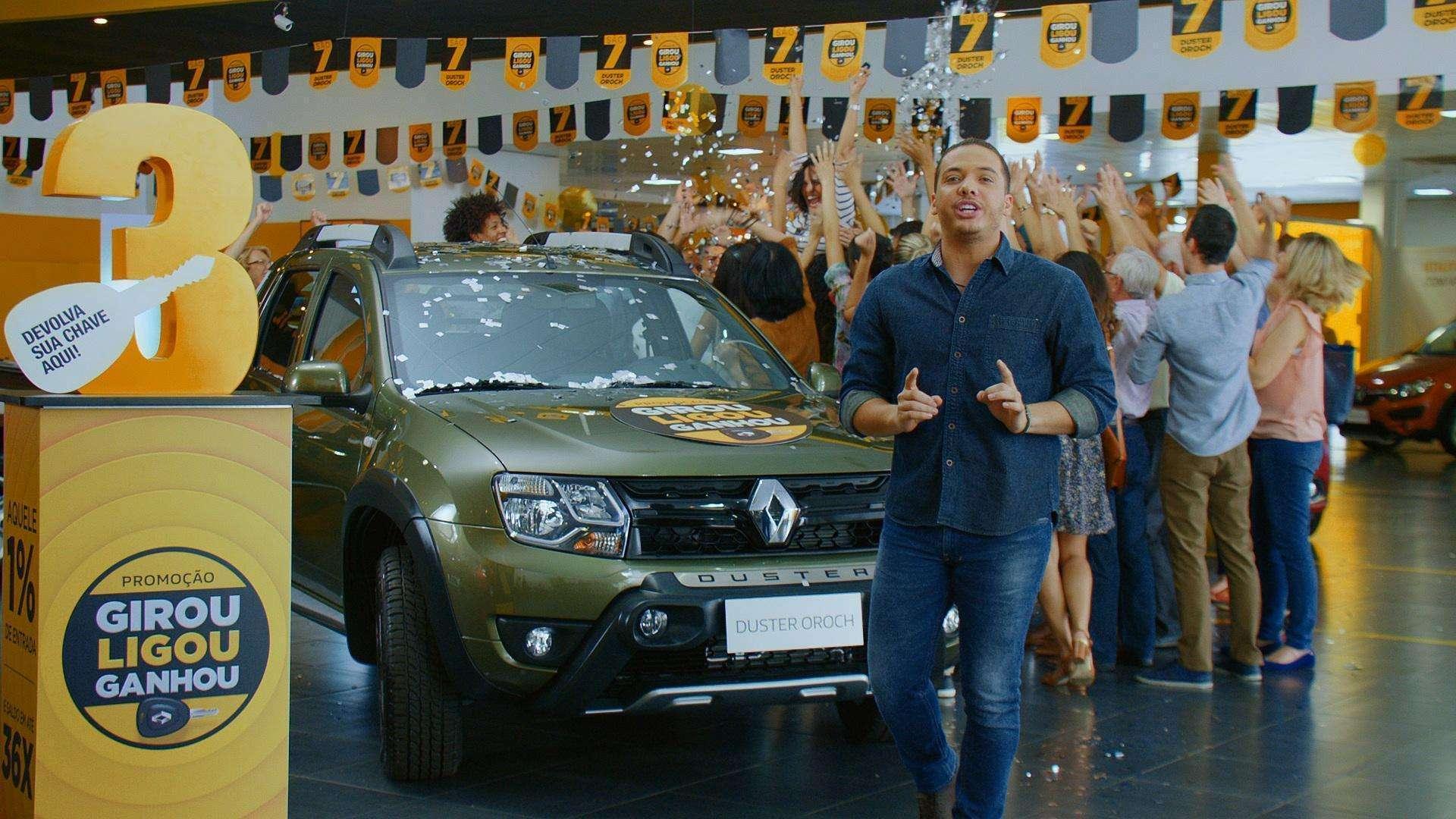 Renault inicia promoção Girou, Ligou, Ganhou, com sorteio de 7 picapes Oroch