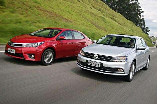 Volkswagen Jetta encara Toyota Corolla com seu novo motor TSI de 150 cavalos