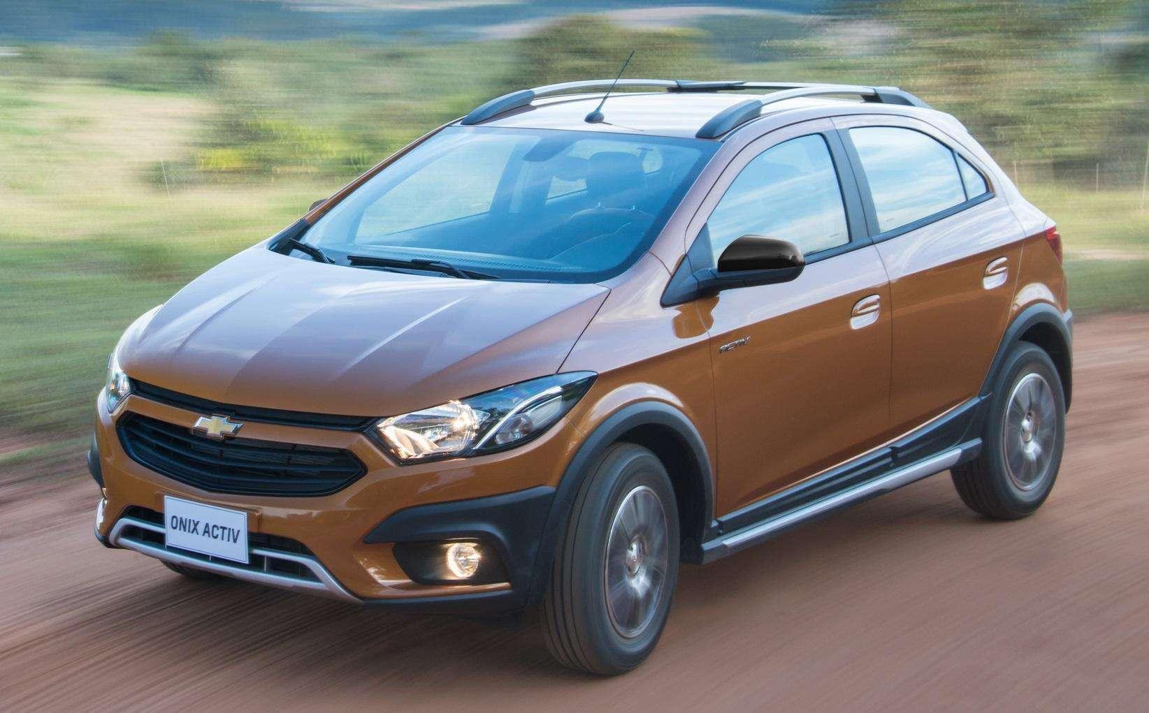 Chevrolet Onix 2017 ganha versão Activ com espírito de aventura