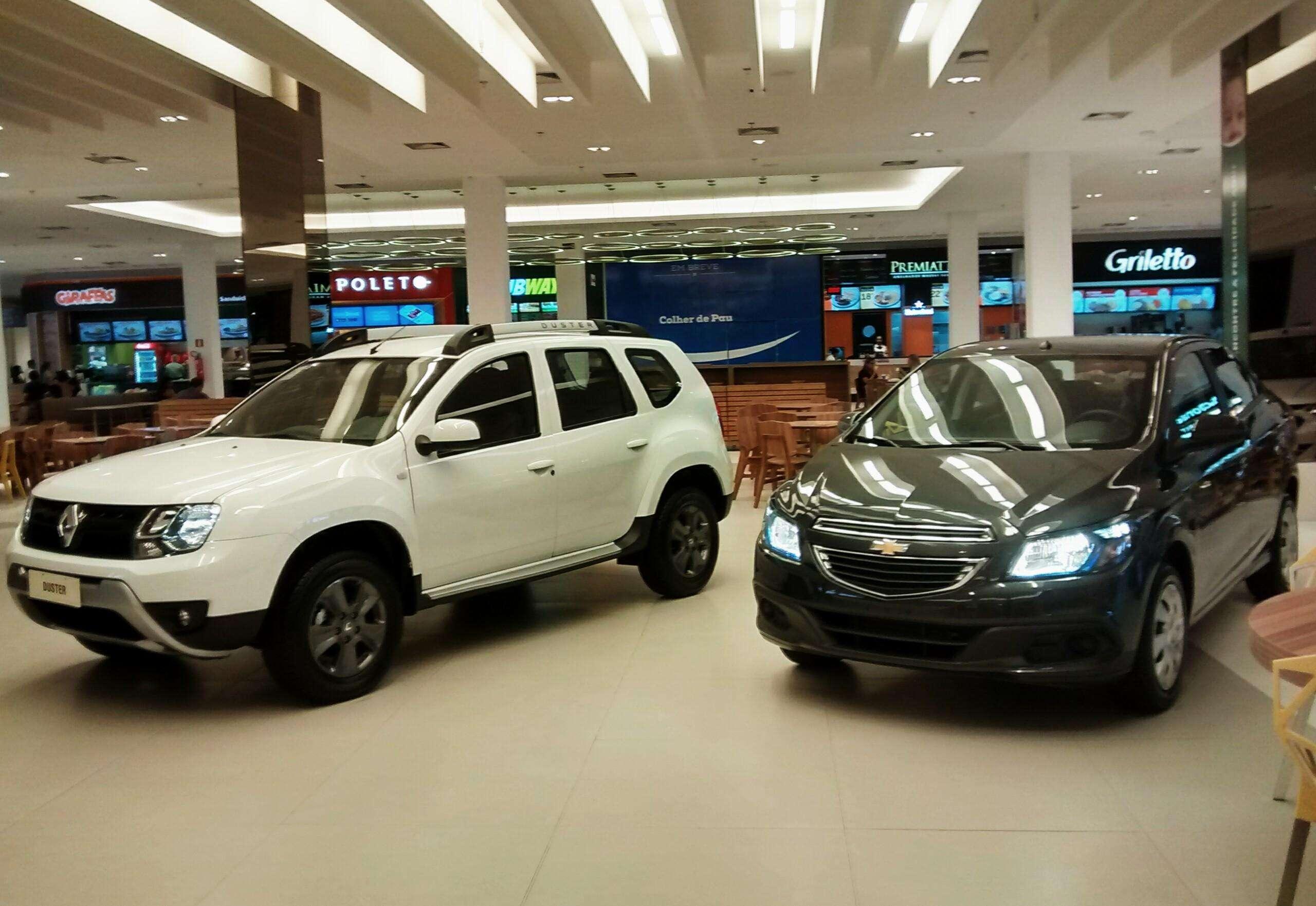 Chevrolet e Renault promovem Outlet Carro 0km com preço de fábrica