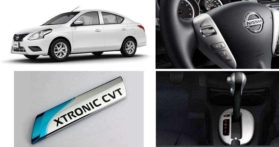 Aproveite o lote especial do novo Nissan Versa com câmbio automático CVT