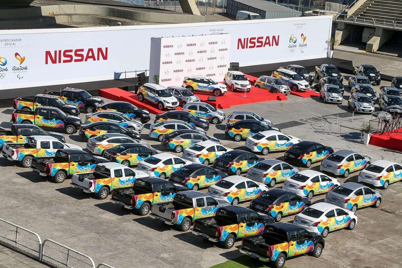 Nissan revela eficiência de March, Versa, Sentra e Kicks, carros da frota das Olimpíadas