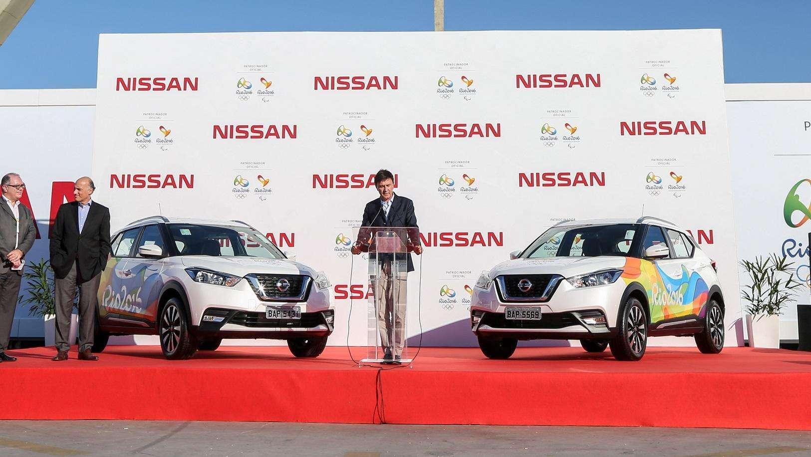 Nissan entrega frota especial para Comitê das Olimpíadas Rio 2016