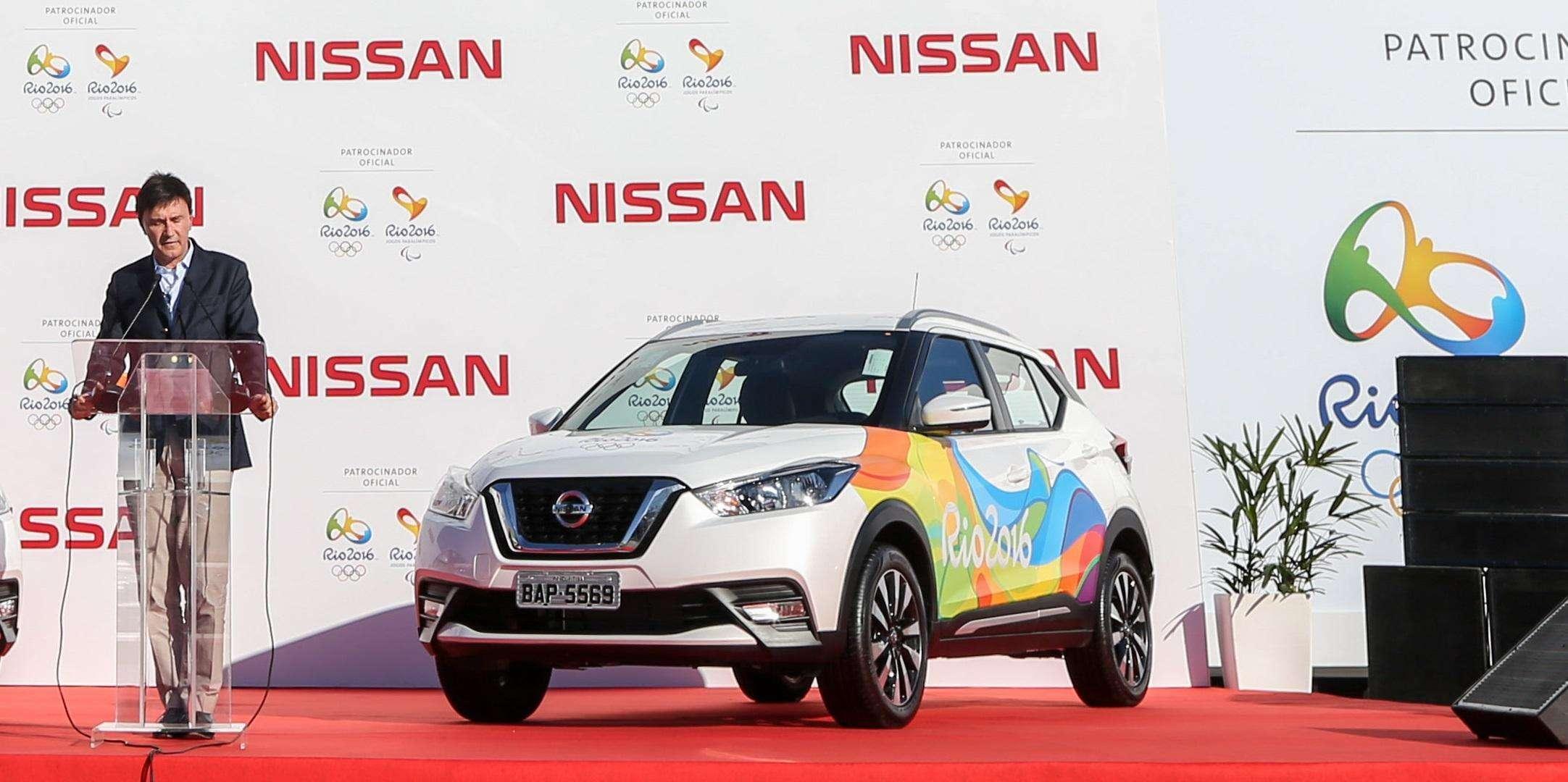 El Comité organizador Río 2016 recibe oficialmente de Nissan la flota de coches que serán usados en los Juegos Olímpicos y Paralímpicos Río 2016.