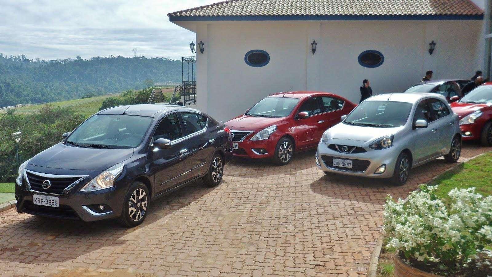 Compare e comprove: Nissan March e Versa CVT desafiam Etios, Ka, Siena e HB20