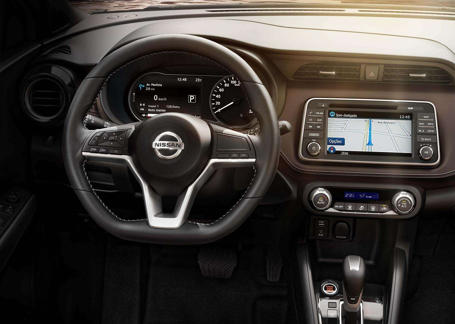 Conheça detalhes do inovador quadro de instrumentos do Nissan Kicks
