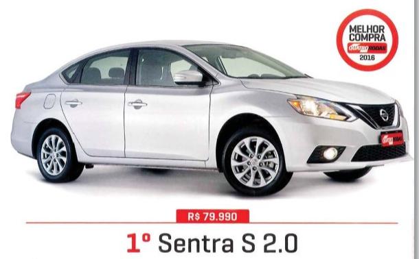 Japan Veículos oferta lote especial do Nissan Sentra modelo 2017