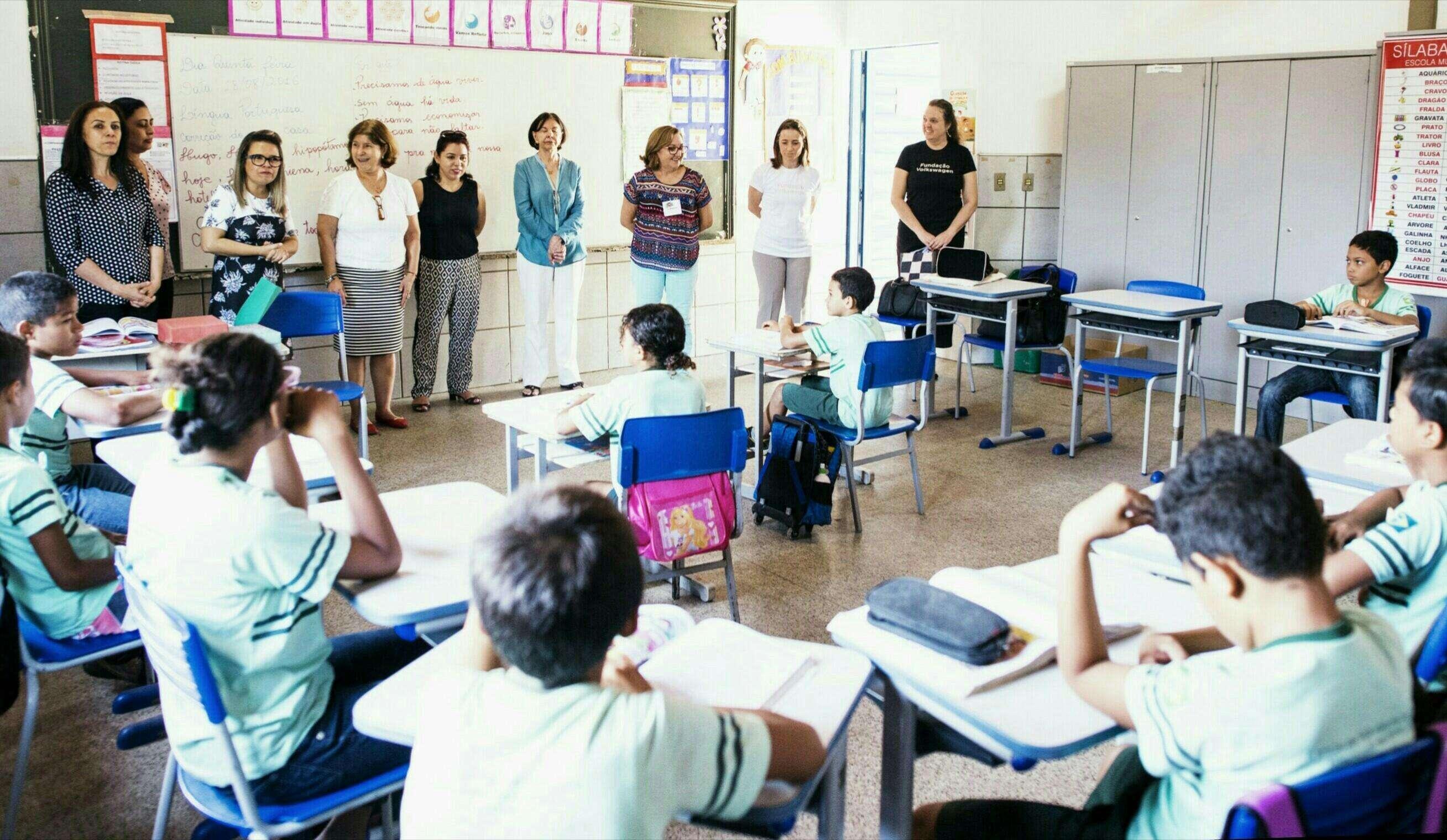 Fundação Volkswagen e Instituto Ayrton Senna efetivam aceleração do aprendizado em Teresina