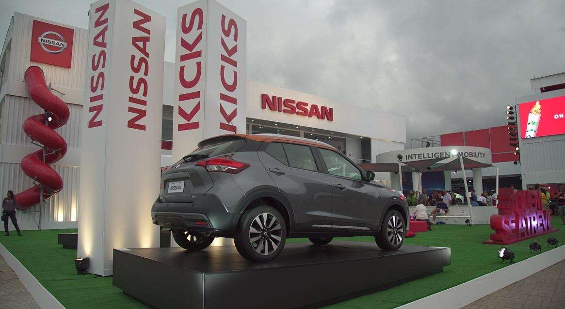 Nissan Kicks House at the Olympic Park