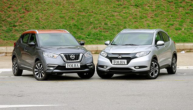 Nissan Kicks enfrenta Honda HR-V em comparativo do UOL – confira o melhor SUV