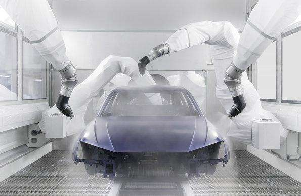 Audi has put a new topcoat paint shop into operation at its plant in Ingolstadt. The 12,000-square-meter building (129,000 sq. ft.) is locates in the north of the plant site.