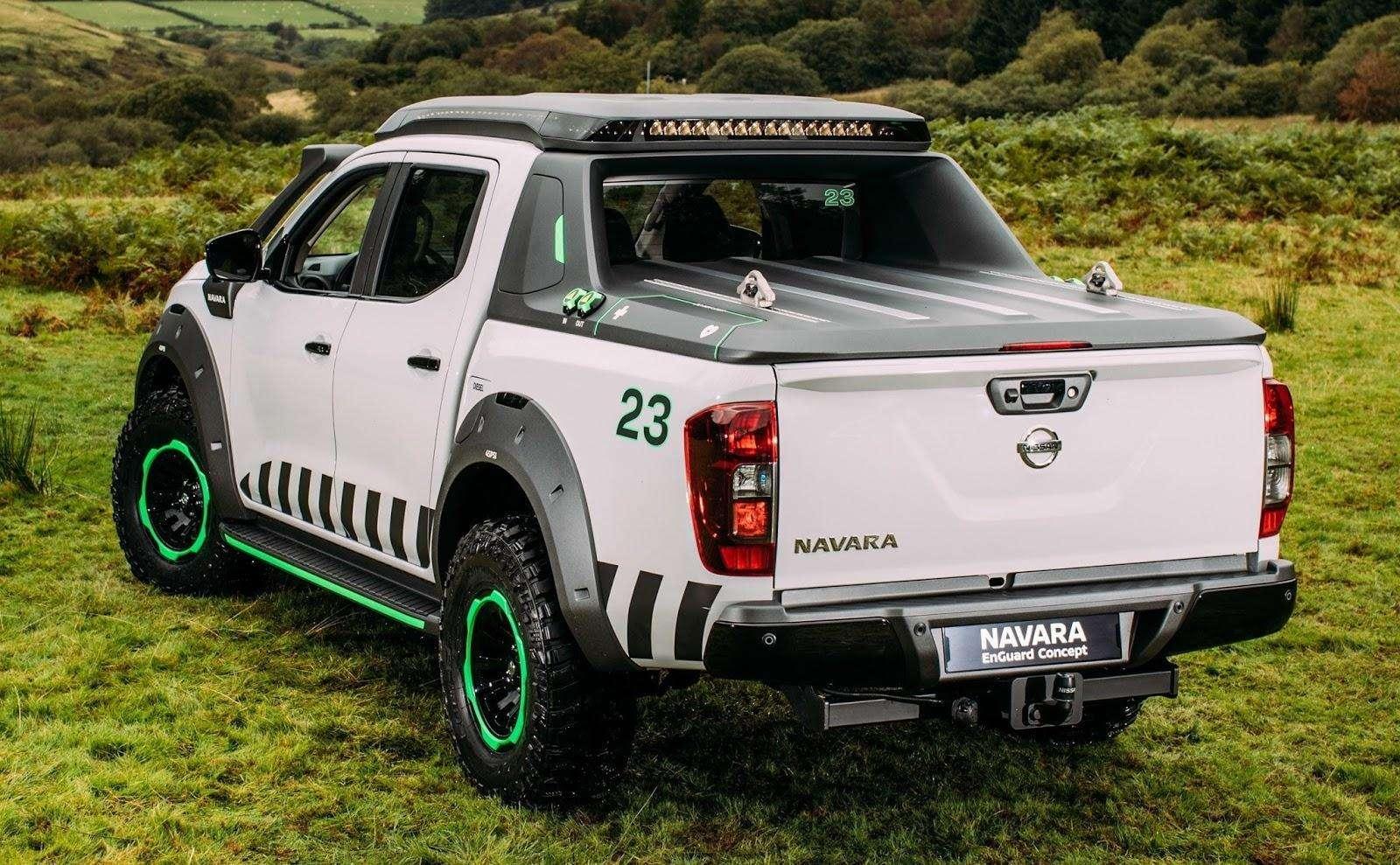 Nissan presenta la nueva Pick Up NP300 Navara EnGuard Concept en el marco del Auto Show de Hannover 2016