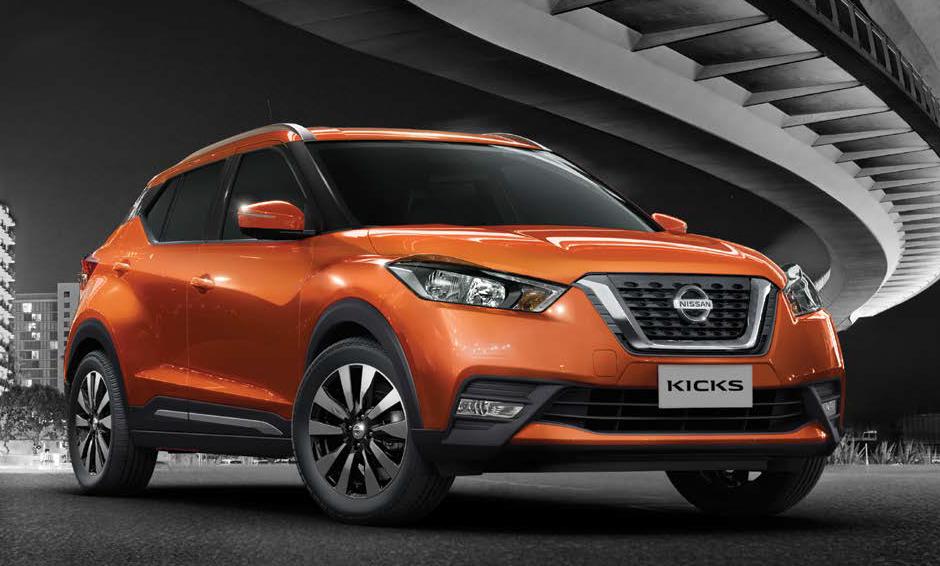 Sensação no Brasil, utilitário Nissan Kicks 2017 agora é lançado no México
