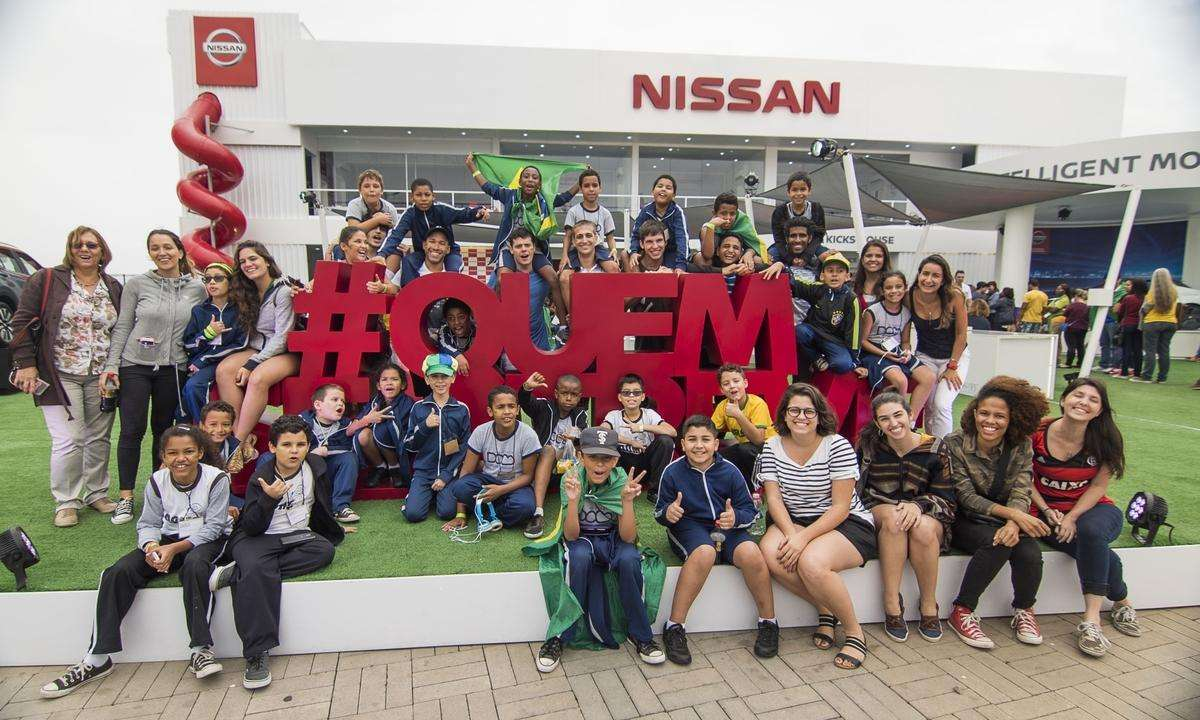 Nissan e plataforma social levam jovens para torcer nos Jogos Paralímpicos Rio 2016