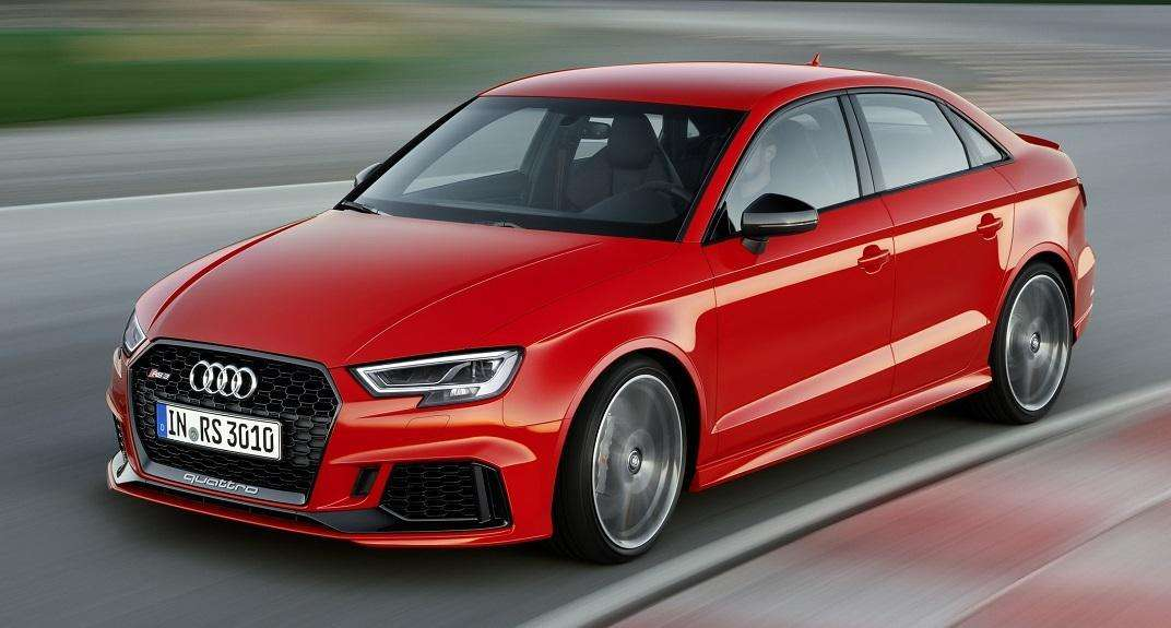 Audi RS3 Sedan é destaque no Salão de Paris, com motor de 400 horsepower