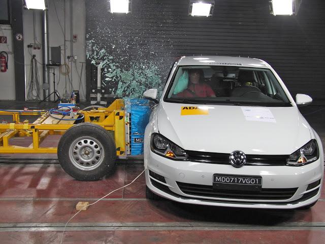 Volkswagen Golf comprova ser o mais seguro do Brasil: 5 estrelas para adultos e crianças