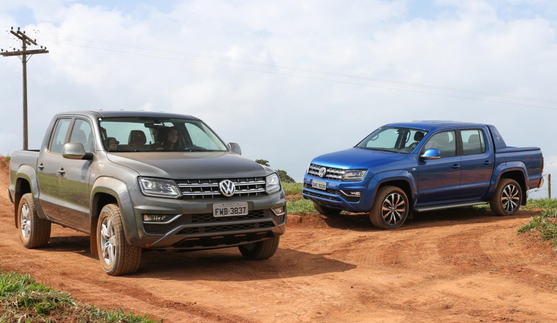 Cheias de tecnologia, picapes Volkswagen Amarok e Saveiro são destaque na Agrishow 2017