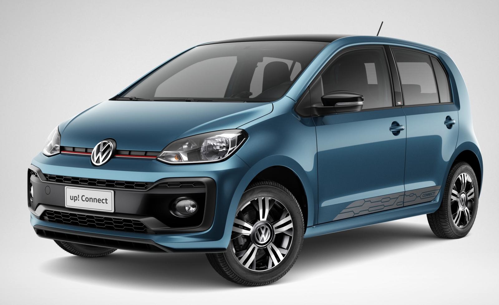Volkswagen up! 2018: o compacto mais inteligente ganha conectividade e design esportivo