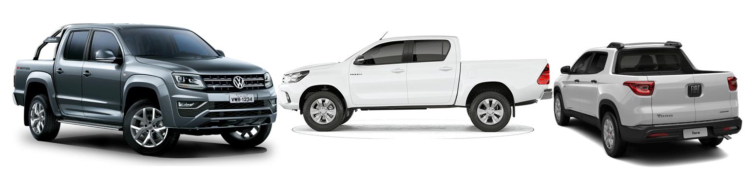 VW Amarok, Toro e Hilux: saiba qual tem o menor custo de manutenção entre pick-ups a diesel