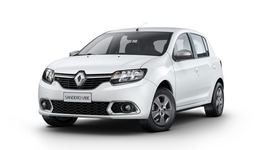 Com novos motores, Renault Sandero avança em participação no mercado brasileiro