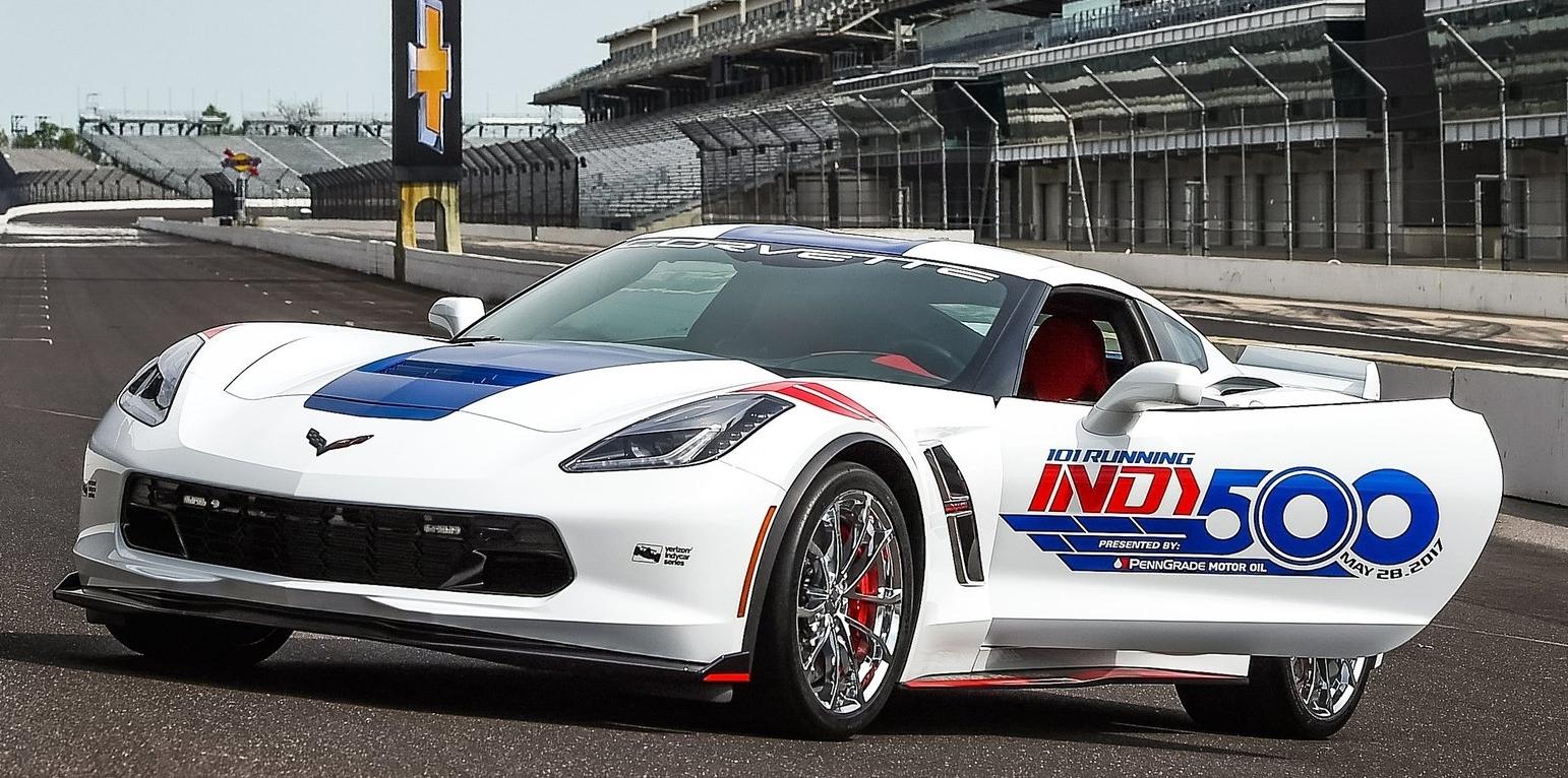 Superesportivo Chevrolet Corvette será o Pace Car da Fórmula Indy: veja fotos