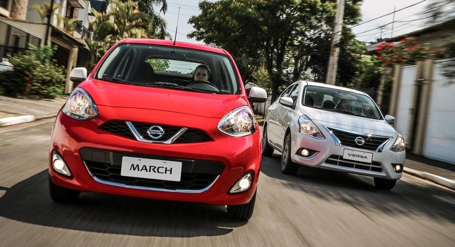 Mais uma vez, Nissan March e Versa são eleitos Compra Certa do Ano pela revista Car And Driver